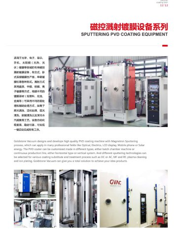 Sputter PVD Coating Machine