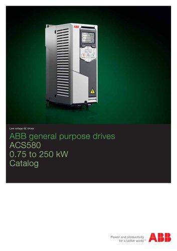 ACS580, catalog