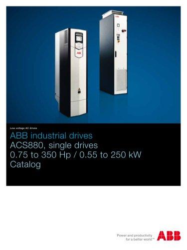 ACS880-01, single drives, 0.75 to 350 HP Catalog