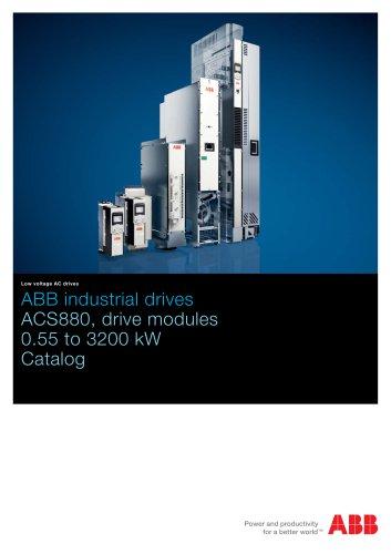 ACS880 drive modules, catalog