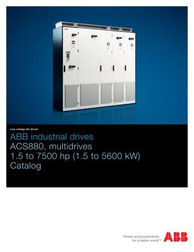 ACS880, multidrives, 1.5 to 250 Hp Catalog