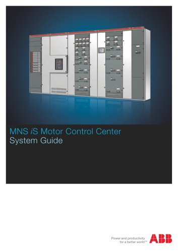 MNS iS Motor Control Center