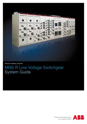 MNS R Low Voltage Switchgear