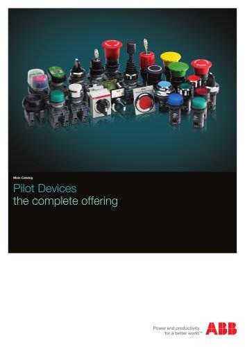 Pilot device Catalog