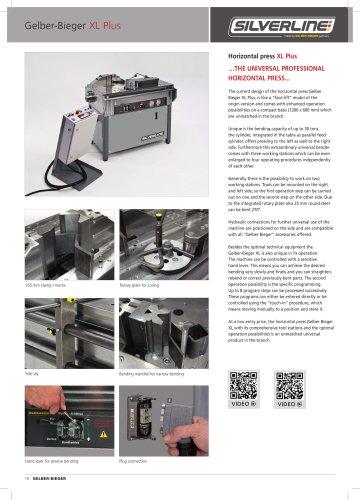 Horizontal Press XL-Plus 30 T