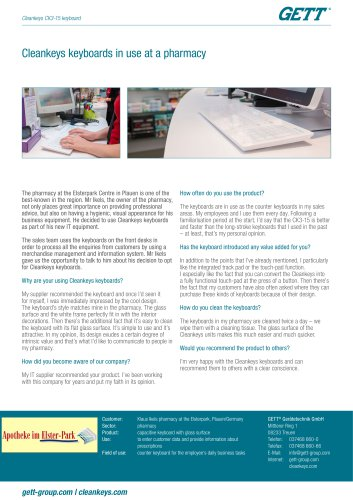 """Flyer Case Study """"CK3-15 Pharmacy"""""""