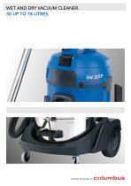 Wet and dry vacuum cleanders