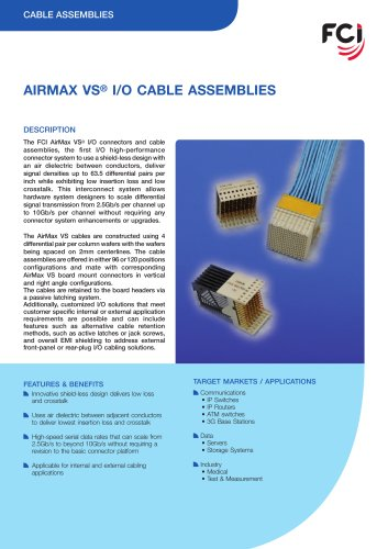 AirMax VS® Cable Assembly