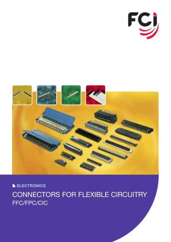 Connectors for Flexible Circuitry FFC/FPC/DIC