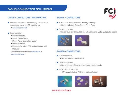 D-Subminiatures Connectors & Accessories