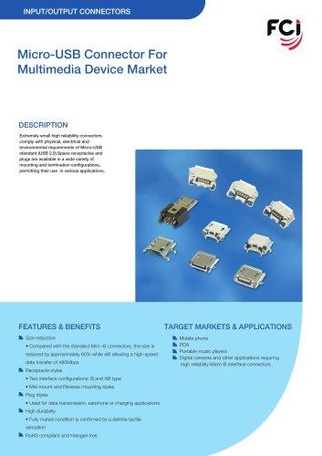 Micro USB Datasheet
