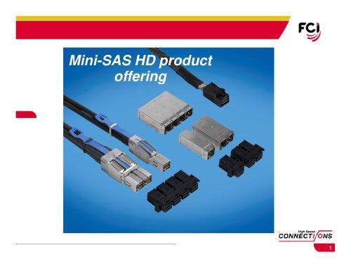 Mini-SAS HD product