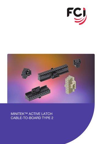 Minitek Active Latch Housing