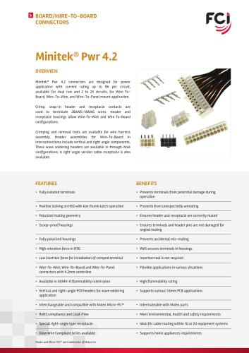 Minitek Pwr 4.2