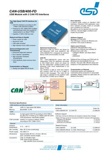 CAN-USB/400-FD