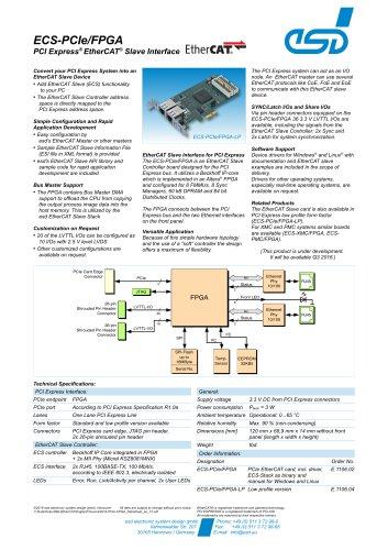 ECS-PCIe/FPGA