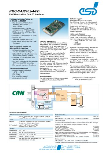 PMC-CAN/402-4-FD