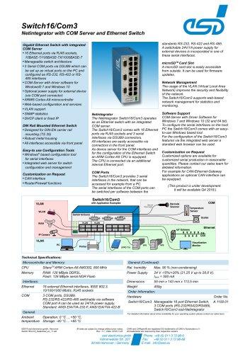 Switch16/Com3