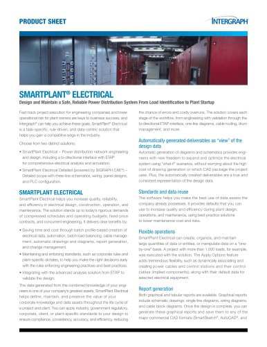 SMARTPLANT® ELECTRICAL