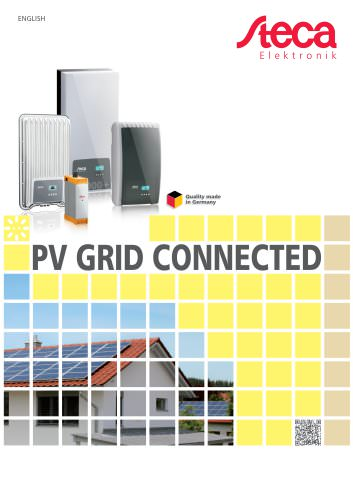 PV grid connected - Product catalogue
