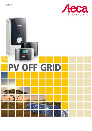PV off grid - Product catalogue