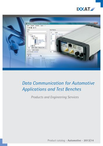 Catalog 2013|14 - Automotive Products