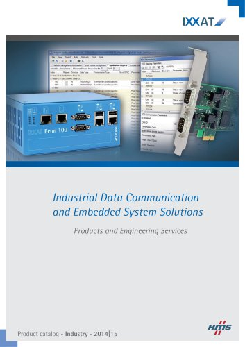 Catalog 2014|15 - Industrial Products