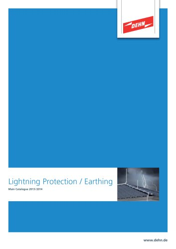 Lightning Protection Main Catalogue
