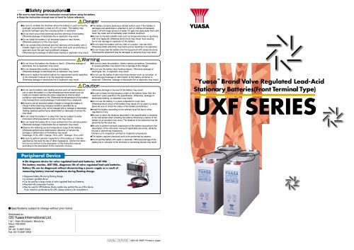 UXF Series