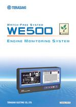 Engine monitoring system Watch-free system model : WE500