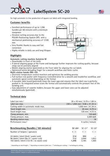 LabelSystem SC-20