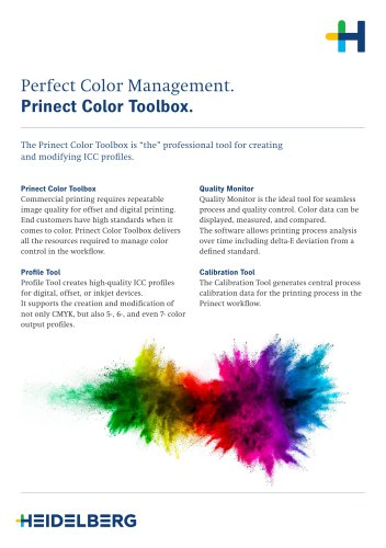 Prinect Color Toolbox