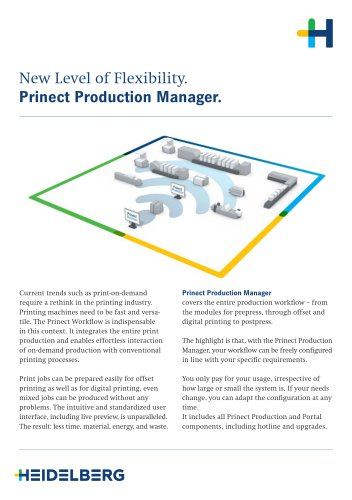 Prinect Production Manager