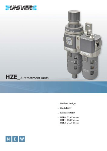 HZE_Air treatment units