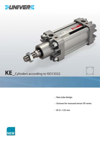 KE_Cylinders according to ISO 15552