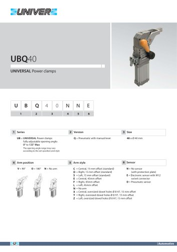 UBQ40_UNIVERSAL Power clamps