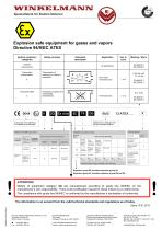 Explosion survey page