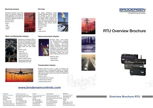 RTU Overview Brochure
