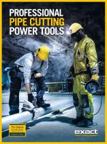 PROFESSIONAL PIPE CUTTING POWER TOOLS