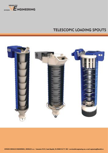 TELESCOPIC LOADING SPOUTS