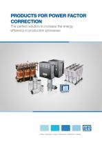 PRODUCTS FOR POWER FACTOR CORRECTION