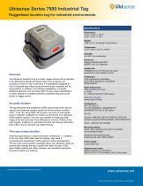 Series 7000 Industrial Tag - 1