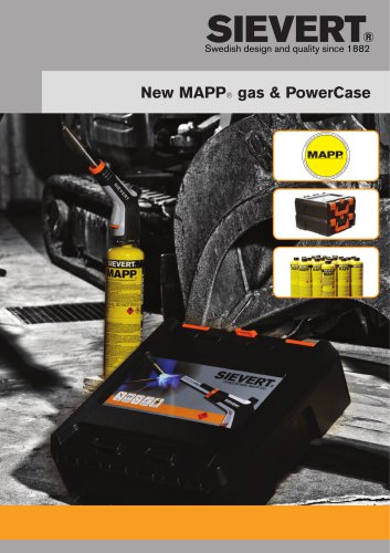 New MAPP® gas & PowerCase