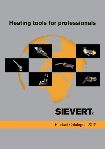 Product Catalogue 2012