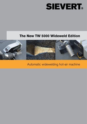 The New TW 5000 Wideweld Edition