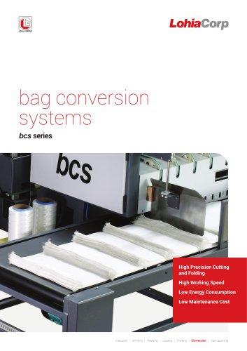 Bag Conversion Lines