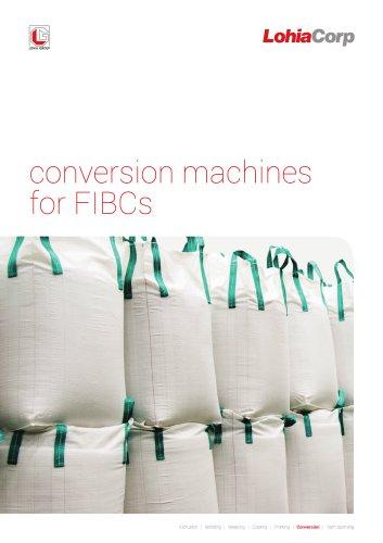 Conversion Machine for FIBC