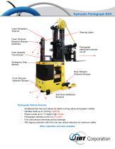 Hydraulic Pantograph SGV