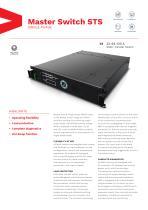 Master Switch STS Single-Phase