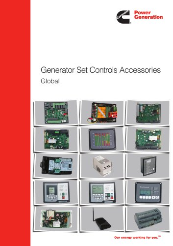 Generator Set Controls Accessories Global
